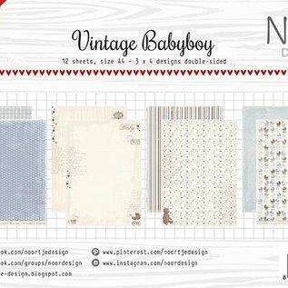 Paper Set - Vintage Babyboy Design
