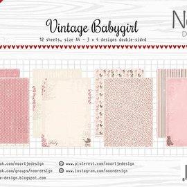 Papierset - Design Vintage Babygirl 6011/0606