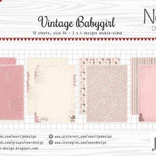 Paper Set - Vintage Babygirl Design