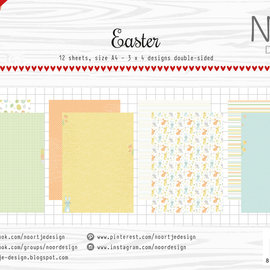 Paper set - Noor - Design Easter 6011/0613