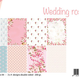 Papierset - Design Wedding Roses 6011/0611