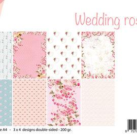 Papierset - Design Wedding Roses 6011/0611