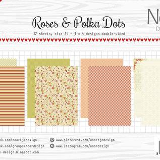 Paper Set - Design Roses & Polkadots
