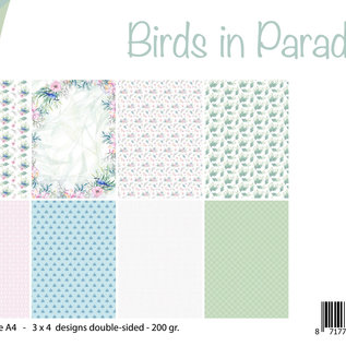 Paper set - Birds in Paradise