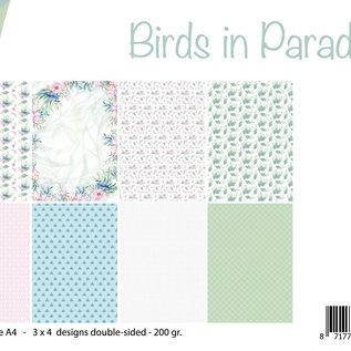 Papierset - Birds in Paradise