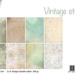 Design Papierset - Vintage story