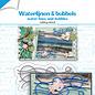 Stanzschablone - Wasserlinien und Bubbels 6002/1477