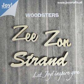 Woodsters - Holz Worten (NL) - Zee - Zon - Strand