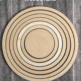 Woodsters - Circles for shakercards  and deco