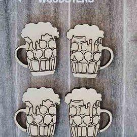 Holzfäller - Bierkrüge