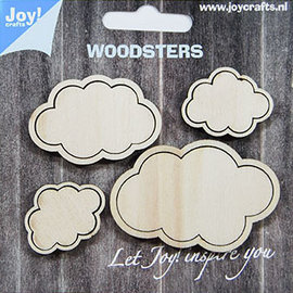 Woodsters - Clouds -  for deco + shakingcards