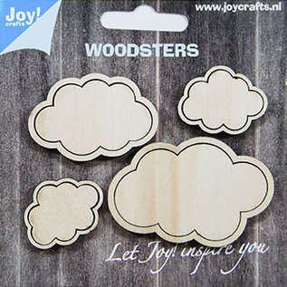 Woodsters - Clouds -  for deco + shakingcards 6320/0020