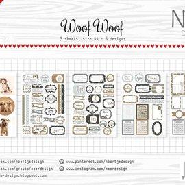 Label/cuttingsheet - Noor  - WoofWoof