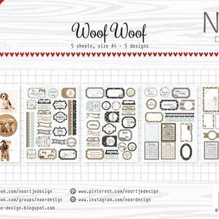 Label/cuttingsheet - Noor  - WoofWoof 6011/0417