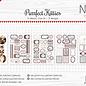 Etikette-Schneidebogen - Noor - Purrfect Kitties 6011/0422