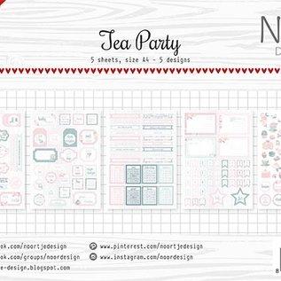 Labelsheets/cuttingsheet  - Noor - Tea Party 6011/0423