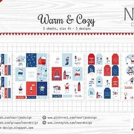 Etikettebogen - Noor - Warm&cozy
