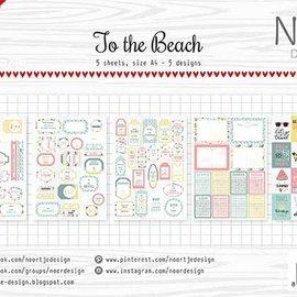 Etikettebogen Noor - At the beach