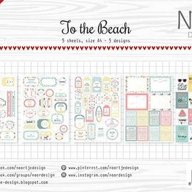 Labelsheets - At the beach
