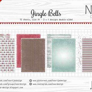 Paper set - Noor - Design Jingle Bells 6011/0610