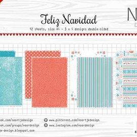 Papierset - Noor - Design Feliz Navidad