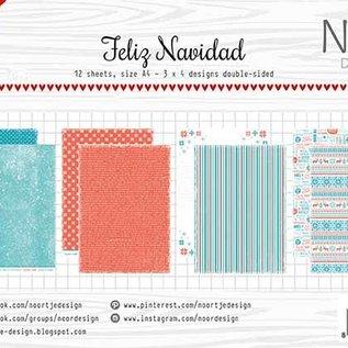 Papierset - Noor - Design Feliz Navidad 6011/0615