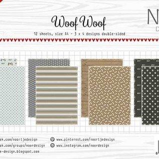 Papierset - Noor -  Design WoofWoof 6011/0616