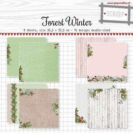 Papierset Scrap -  Noor - Design Forest Winter