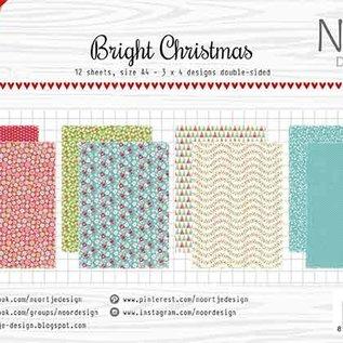 Papierset - Design -Noor- Bright Christmas 6011/0635