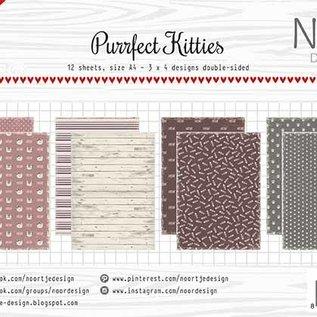 Papierset - Noor -  Perfect Kitties  6011/0642