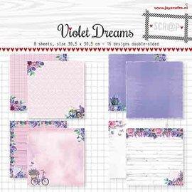 Paperset -Noor  -Violet Dreams