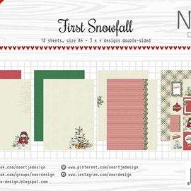 Papierset - Noor - Design - Erster Schneefall