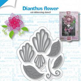 Stanz-debosschablone - Dianthus Blume 6002/1430