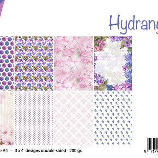 Papierset - Design Hydrangea 6011/0619