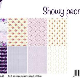 Design Papierset - Showy Peonies