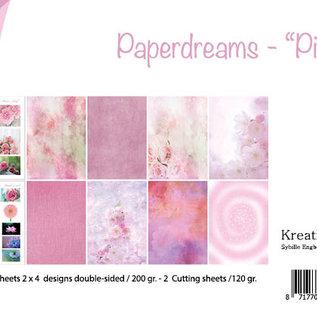 Papierset - Bille - Design Paperdreams 'Pink' 6011/0622