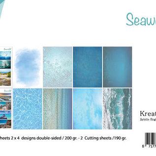 Schneidebogen/Papierset - Bille - Design Seaworld 6011/0625