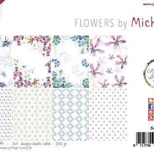 Papierset - Michelle's flowers 6011/0632