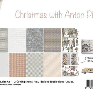 Paperset - Design - Christmas with Anton Pieck 6011/0637