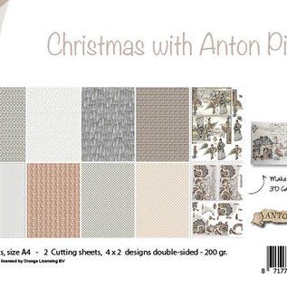 Papierset - Design - Weihnachten mit Anton Pieck 6011/0637