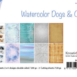 Paperset -  Bille - Design Aquarell Dogs & Cats