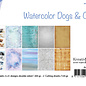 Papierset -  Bille - Design Aquarell Dogs & Cats 6011/0638