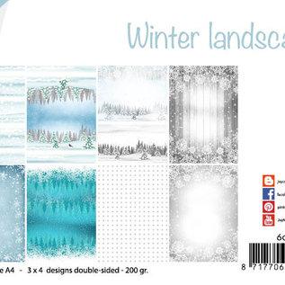 Papierset - Design Winter Landschaft  6011/0640