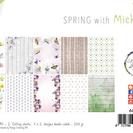 Paper set - Design - Spring wi th Michelle