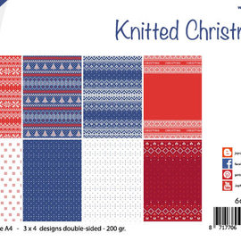 Paperset - Design - Knitted Christmas