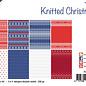 Papierset - Design - Gestrickte Weihnachten 6011/0647