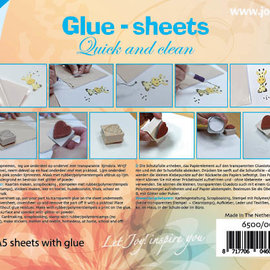 Glue Sheets A5 - Quick and Clean 6500/0034