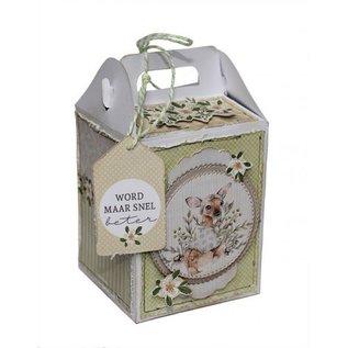 Polybesa Schablone - Geschenkbox mit Verschluß - 6005/0071