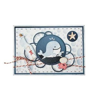 Cuttingdie - Mon Ami - Whale Wally - 6002/1552