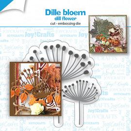 Stanz-prägeschablone - Dillblume - 6002/1536